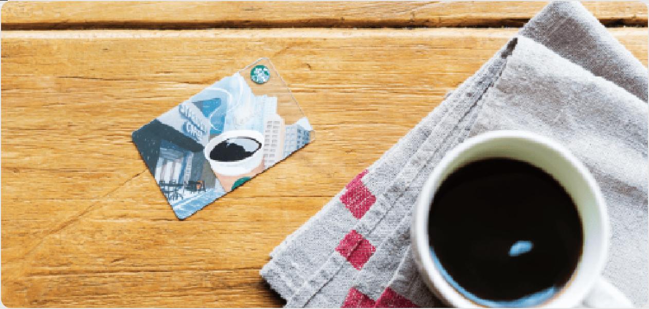 スターバックス カードへのオンライン入金でOki Dokiポイントが10倍たまる!